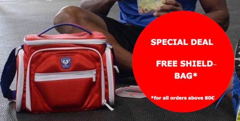 Free Product Shield Bag